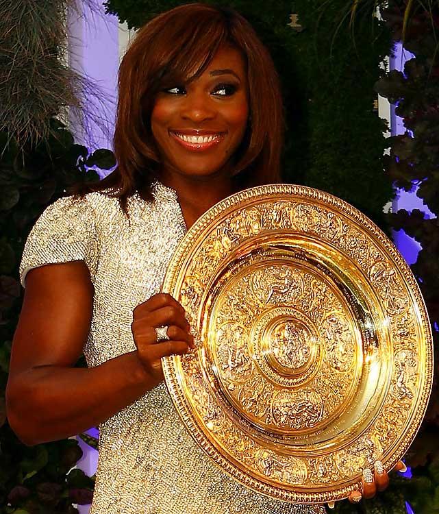 def. Vera Zvonareva, 6-3, 6-2 Grand Slam, Grass, $9,781,631 Wimbledon, United Kingdom