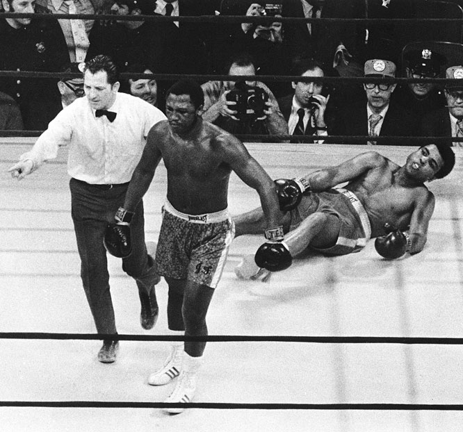 "When Ali met Frazier in the ""Fight of the Century"" at Madison Square Garden, Mercante was the third man in the ring -- but didn't get word of the assignment from the New York State Athletic Commission until hours before the fight."