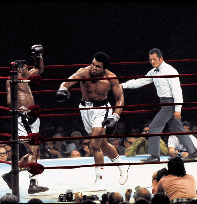 Mercante worked a number of Ali's fights, including the one-sided rematch with Patterson that ended the former heavyweight champ's career.