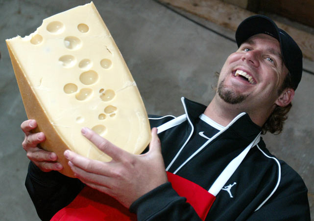 Roethlisberger gets in touch with his Swiss roots during a visit to Lauperswil, Switzerland - the home town of Ben's great great grandfather Karl.