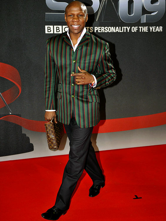 Who said boxers can't show a little class?  Eubank is known for his elegant upper middle-class Englishman dress.  Although a bit out-dates, he must be doing something right.  He won Britain's Best Dressed Man award in both 1991 and 1993.