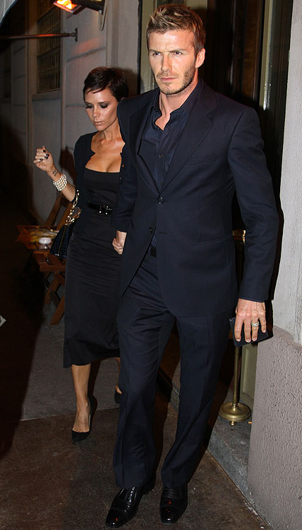 A best-dressed list would be a sham without soccer star David Beckham.  Paired with his wife Victoria, the two ooze style. And how could they not after spending a majority of their time in Milan, Los Angeles and London?