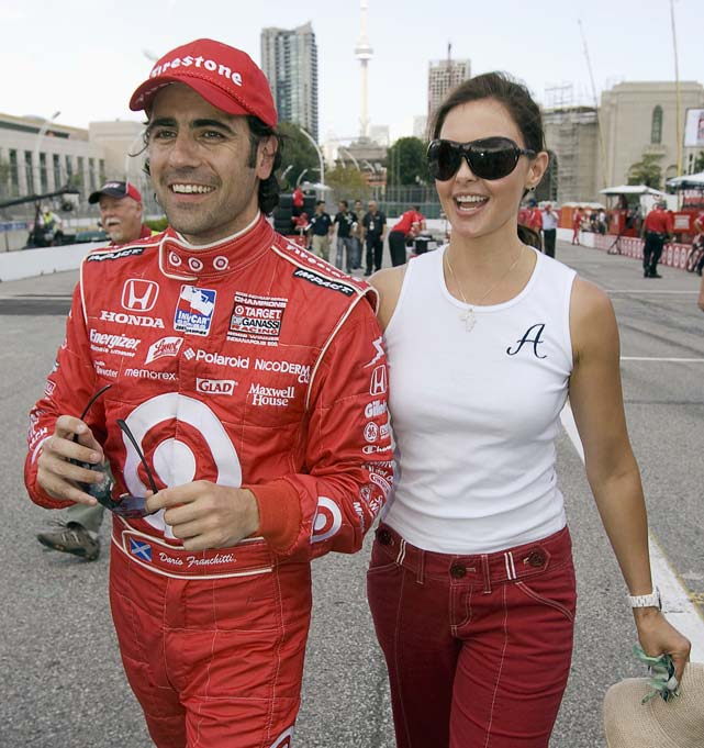 The famed film actress is married to 2007 Indianapolis 500 winner and two-time IndyCar Series champion Dario Franchitti. The two began dating in the late 1990s and were married on Dec. 12, 2001. They form one of auto racing's most well-known couples.