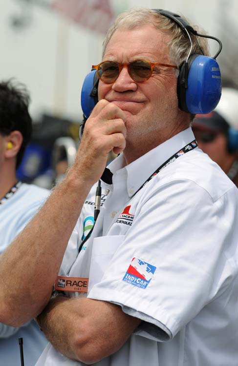 Late Show  host and Indianapolis native David Letterman grew up as an avid fan of the Indy 500. While at NBC as host of  Late Night with David Letterman , he struck up a friendship with Indianapolis 500 winner Bobby Rahal. In 1996, Letterman became part of Team Rahal, and Rahal Letterman Racing was born in 2004. Rahal Letterman driver Buddy Rice won that year's Indianapolis 500.
