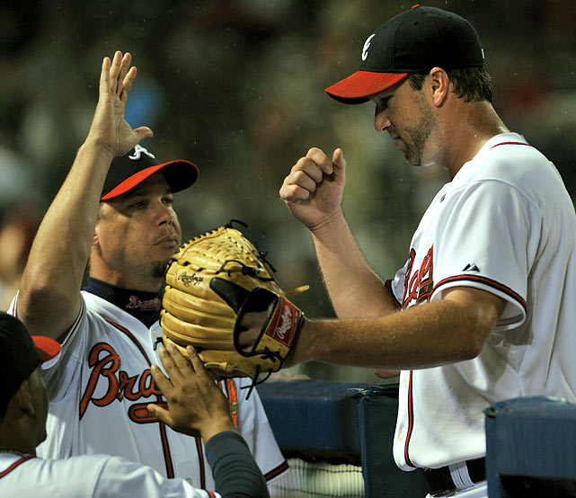 Highest salaries:  Derek Lowe: $15 million Chipper Jones: $13 million