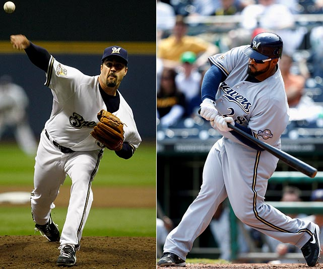 Highest salaries:  Jeff Suppan: $12.75 million Prince Fielder: $11 million