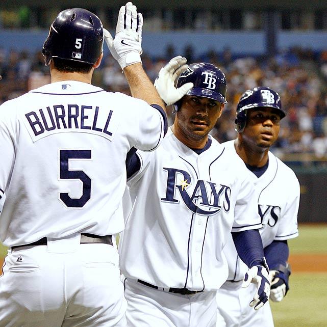 Highest salaries: Carlos Peña: $10.13 million Carl Crawford: $10 million Pat Burrell: $9 million