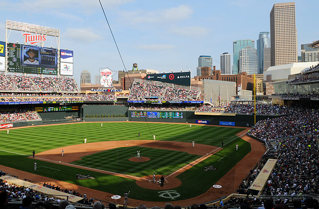 Opening Day At Target Field Si Com