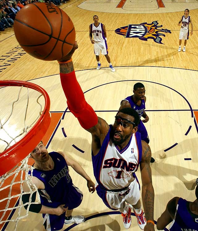Amar'e Stoudemire's frontcourt scoring has been vital to Phoenix's surprising season. He is averaging better than 26 points a game since the All-Star break.