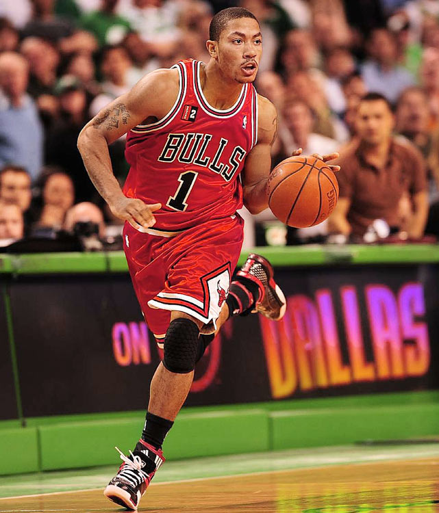 Though his Bulls failed to make it beyond the first round of the playoffs, Derrick Rose continued to make a name for himself, coming in at No. 4.