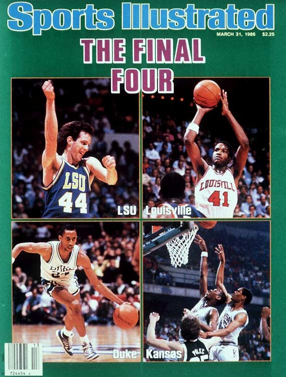 In 1986, Lousiana State became the first double-digit seed to reach the Final Four. But the Tigers had won their first two games of the tourney playing on their home floor in Baton Rouge, leading the NCAA to institute a rule against such advantageous home-court scheduling for future tournaments.