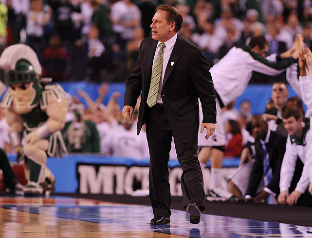 Only John Wooden, Mike Krzyzewski, Dean Smith and Roy Williams have taken more teams to the Final Four than Michigan State's Tom Izzo.
