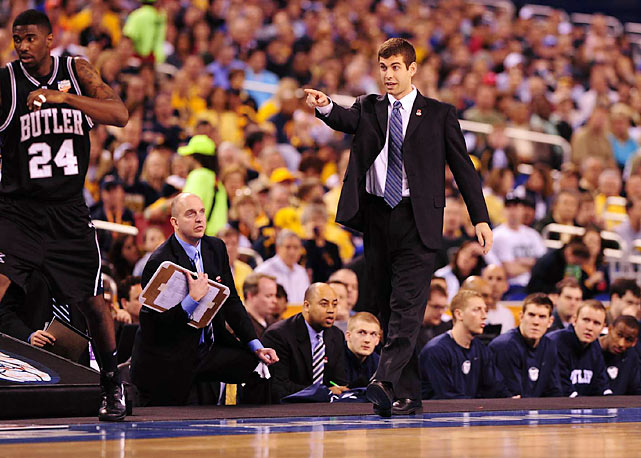 Butler's Brad Stevens, 33, is the youngest coach to bring a team to the Final Four since a volatile youngster named Bobby Knight did it in 1973.