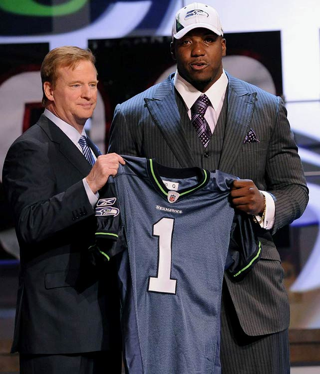 The Seattle Seahawks picked Oklahoma State tackle Russell Okung sixth overall.