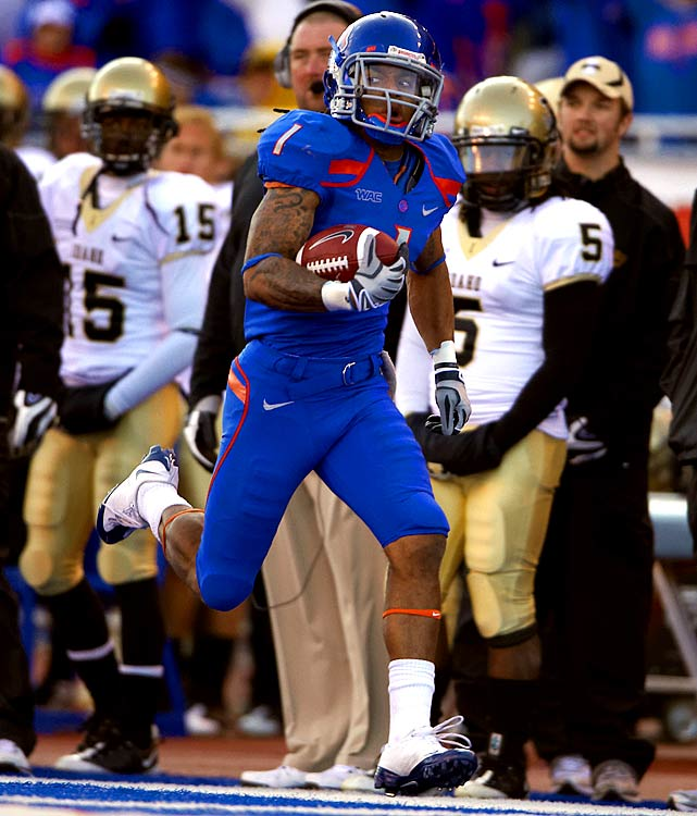 Despite coming from an unheralded conference, Wilson is expected to come off the board in the first round of the draft because of his elite ballhawking (8 interceptions over the past two seasons) and good strength for the corner position. Wilson makes big plays in big games -- he had two interceptions in Boise's 2008 win over Oregon.