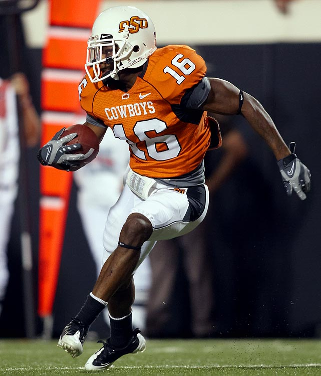 After returning the opening kickoff of his first game as a freshman for a touchdown, Cox ended his college career as one of the most productive corners and return men of the last four years, capping it all off with 4 interceptions in 2009. Cox's speed and ability to produce on special teams make him an attractive pick, but hesitations remain about his maturity and fundamentals.