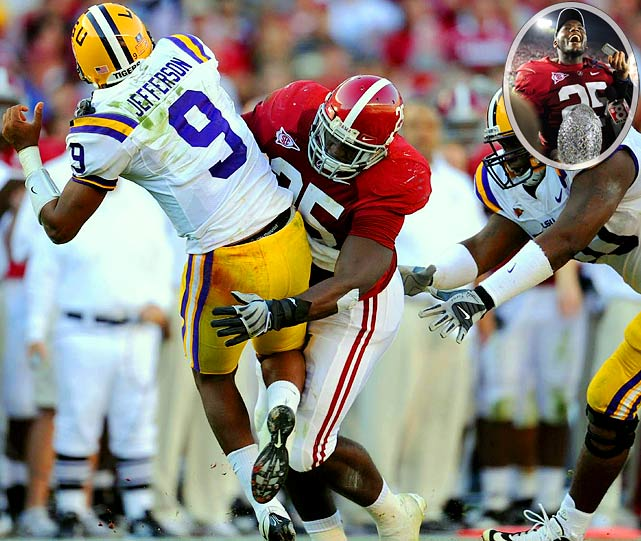 McClain won the Butkus Award as college football's best linebacker in 2009 while leading Alabama to a National Championship. Scouts say McClain's size and instincts should translate into immediate NFL impact, and he projects as an early- to mid-first round pick.
