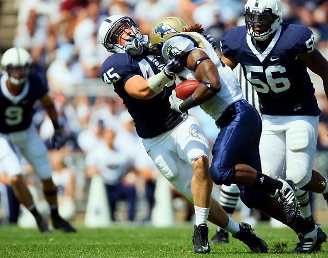 After returning from major knee surgery a year earlier, Lee finished 2009 with 86 tackles. Lee's strengths are his intelligence, awareness and toughness, but the question is whether he has enough speed and strength for the NFL. The PSU product is simply not the freakish athlete many of his fellow linebacker classmates are.