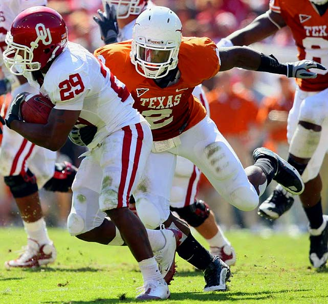 Kindle played defensive end his junior and senior seasons at Texas, but his speed and athleticism makes him a better fit for linebacker in the NFL. Praise of Kindle centers on his intensity, his speed in pass rushing situations, and his relentlessness. But off-the-field issues (in one instance, Kindle drove his car into an apartment building before fleeing the scene) give NFL teams pause.