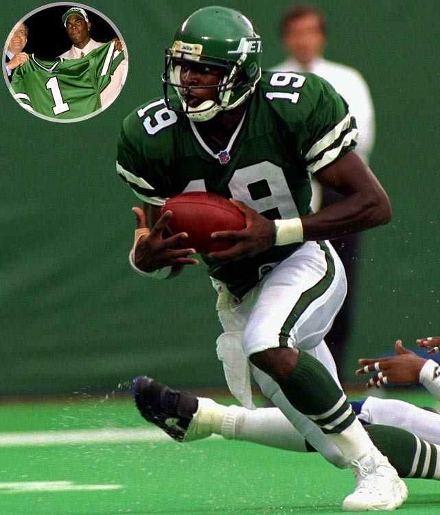 Johnson solidified his draft standing with a magnificent performance for USC in the Rose Bowl, setting a game record with 216 receiving yards in a 41-32 victory over Northwestern. But while Johnson never quite lived up to his considerable hype, the L.A. native still made three Pro Bowls during an 11-year career and helped Tampa Bay to its first Super Bowl title in 2002.