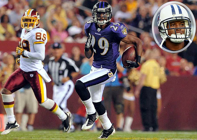 The Ravens defensive back was suspended for the first two games of the 2010 season for an incident involving his family while Williams was still a member of the Tennessee Titans.