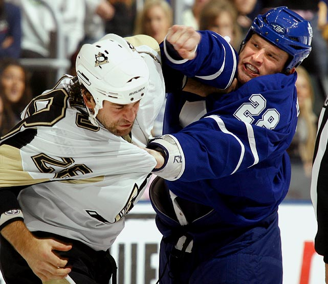 Clearly one of the NHL's most feared merchants of mayhem, the 6-3, 222-pound Orr pulled down 21 percent of the vote. He's stuck his crooked nose into 23 fights this season, overcoming a tepid 3-7-6 start with six consecutive victories in his last seven bouts. Last season, he was an impressive 12-4-2.