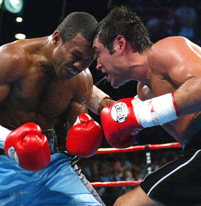 Mosley became a three-division champion with a second narrow decision victory over De La Hoya in their rematch for the light middleweight title. The triumph was later marred by Mosley's admission in grand jury testimony to designer steroid use while training for the fight.