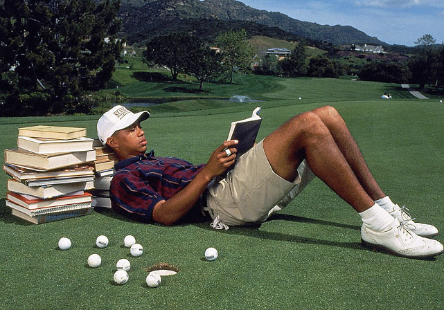 It wasn't all about golf for Tiger at Stanford. He studied economics and planned to major in it until leaving after his sophomore year to turn pro.