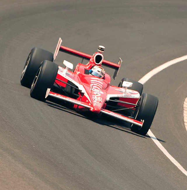 Scott Dixon, who claimed Indy 500 glory in 2008, finished fifth in Sunday's race.
