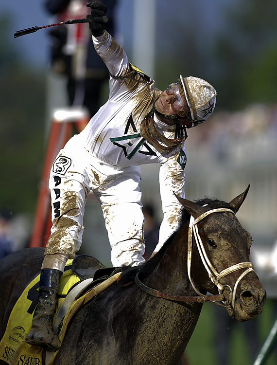 Borel won a shocker in the 2009 Kentucky Derby aboard 50-1 long shot Mine That Bird.