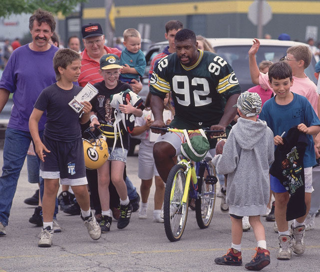 Reggie White was a fan favorite among Packers fans.