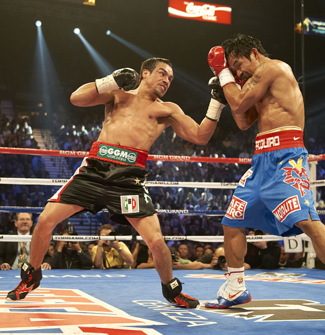 "Marquez took his place within the top tier of Mexican legends by coming off the floor to knock Pacquiao unconscious with a ""perfect"" counter right. If the news of the fourth meeting between the two fighters elicited yawns, a fifth fight would be one of 2013's most anticipated events."