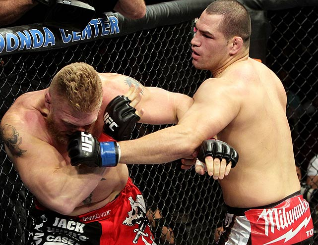 In only his ninth career fight, the 28-year-old Velasquez stopped Brock Lesnar in the first round at UFC 121 to win the heavyweight title. Velasquez, a former All-America wrestler at Arizona State, became the first Mexican heavyweight to claim a major championship in combat sports.