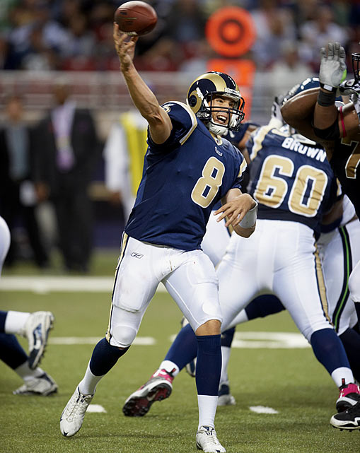 The 2010 first overall pick has not disappointed, throwing for 3,065 yards, 17 touchdowns and a 59.4 completion percentage through 14 games of his rookie season. His most important contribution has come in the win column.  At 6-8, the Rams already have five more victories than all of last year and are threatening for their first playoff berth since 2004.