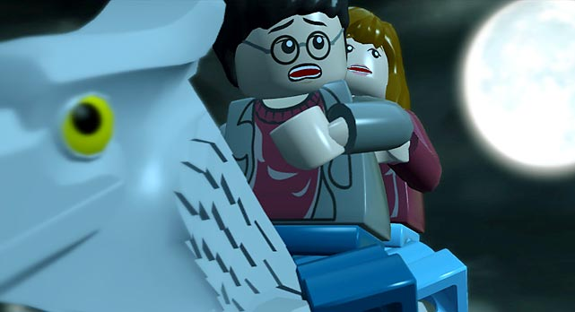 We recently got a hands-on with the latest Warner Bros. game, LEGO Harry Potter: Years 1-4.   The game takes you through the events of each book, starting with the Sorcerer's Stone. The game features plenty of playable characters, including all the obvious selections and some not so obvious characters like Hagrid's dog, Fang. As you explore the story you're able to return to completed areas to look for hidden items and secret areas that you might have missed the first time. You can play the entire game co-operatively with others. The Wii version was more complicated to play than the Xbox version in terms of the complexity of the controls, but the game does take advantage of the Wii controller's motion technology. Not surprisingly, the Xbox version looked much better and is sure to be the choice for folks who prefer graphics over the gimmicks of the Wii. We're told someone who knows all the game's secrets will take 15-20 hours to play through, so it's a safe bet the game is going to be plenty long for the rest of us. The game is expected to release on June 29 on Xbox 360, PS3, Wii, DS, PSP.