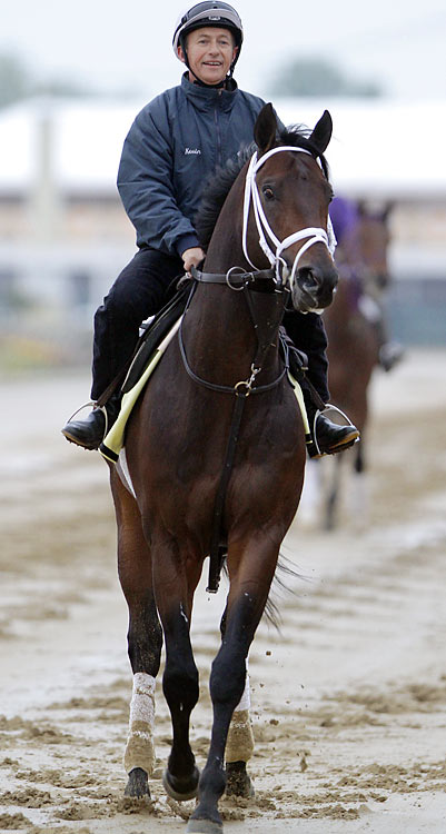 "Trainer Todd Pletcher's  ""other'' horse, Aikenite finished second to late Preakness scratch Hurricane Ike in the April 24 Derby Trial, a one-mile race at Churchill Downs that is  ""Derby Trial'' in name only. He's finished first just once in eight lifetime starts and that was in his maiden race,  Aug. 9 at Saratoga,"