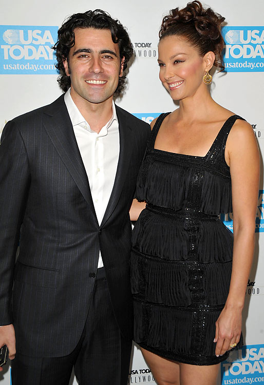 """Dario Franchitti.  """"I enjoy being here and the qualifying format was scintillating. It's a long race and anything can happen. The extent to which there is a favorite in this race, I think Dario has a very, very good chance of being a repeat winner of the 500."""" -- The famed actress is married to Franchitti."""