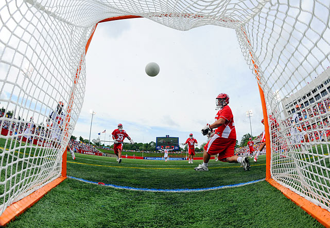 SI photographer Heinz Kluetmeier was on hand last weekend for the men's lacrosse quarterfinals.  Notre Dame, Duke, Cornell and Virginia advanced to the semis in Baltimore.