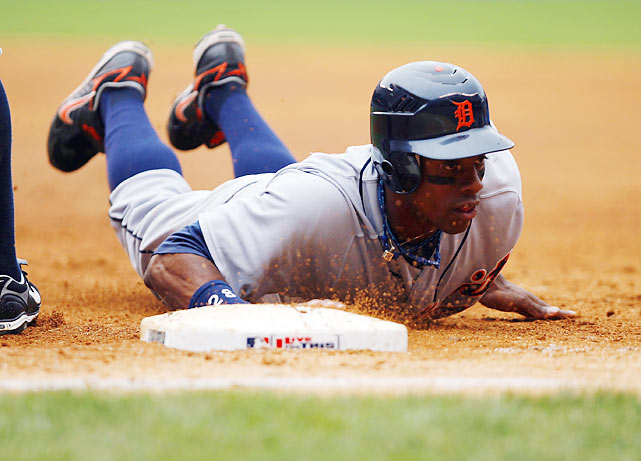 Granderson's speed on the basepaths makes him a nightmare for opposing pitchers and catchers. The speedster has 71 career stolen bases.