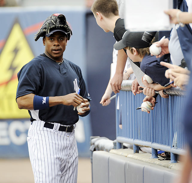 It's no surprise Granderson is a favorite anywhere he goes -- his small-ball attitude and goofy personality make it easy for young fans to relate.
