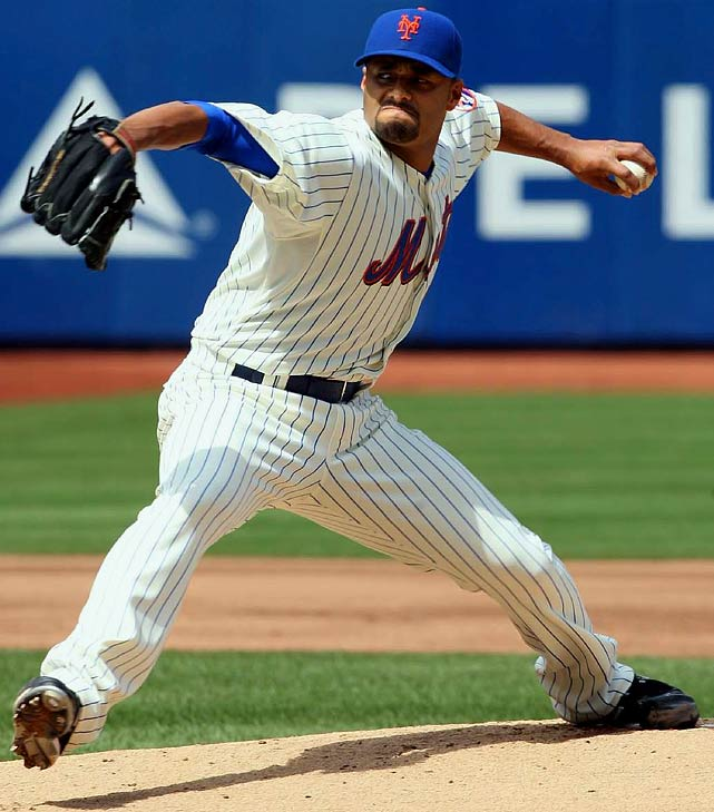 Santana collected two Cy Youngs as a Minnesota Twin, and the powerful lefty has the stuff to be the game's best pitcher every year. This season, Santana is enjoying the comforts of the Mets' CitiField, where he is 4-1 with a 2.79 ERA and 30 strikeouts.