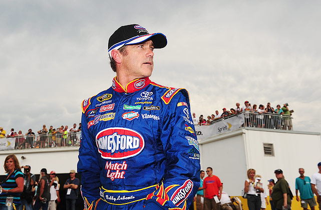 Labonte, the only driver to have won both the Winston Cup championship and the Busch Series championship, hasn't reached Victory Lane since 2003, but he did notch his 200th career top-10 at the Daytona 500.