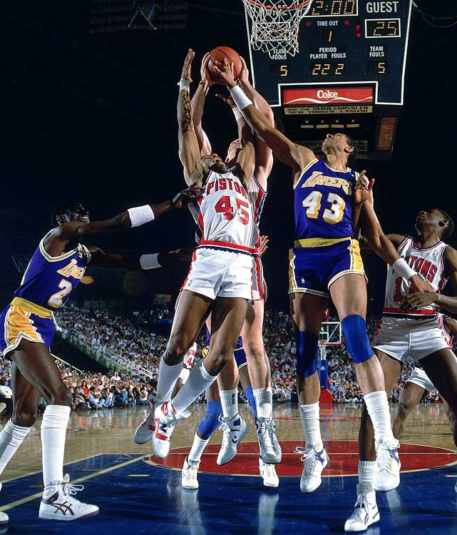 The Lakers (near the start of Dantley's career) and the Pistons (near the end of Dantley's career) won titles immediately after trading the prolific scorer. In between, Dantley, a former Rookie of the Year and two-time scoring king, spent his prime years with non-title-contending Utah.