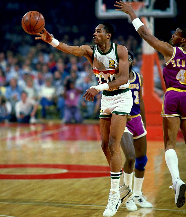 Nobody scored more points in the '80s than English, who set an NBA record with eight consecutive 2,000-point seasons. But English's offensive-minded Nuggets teams went as far as the conference finals just once, in 1985, when Denver was trounced by the eventual champion Lakers.