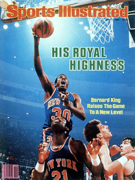 The former scoring champion (and notable Hall of Fame snub to many) won one playoff series in his career (during which he lost nearly two full seasons of his prime to a knee injury). King's Knicks memorably lost in seven games to eventual champion Boston in the 1984 Eastern Conference semifinals.