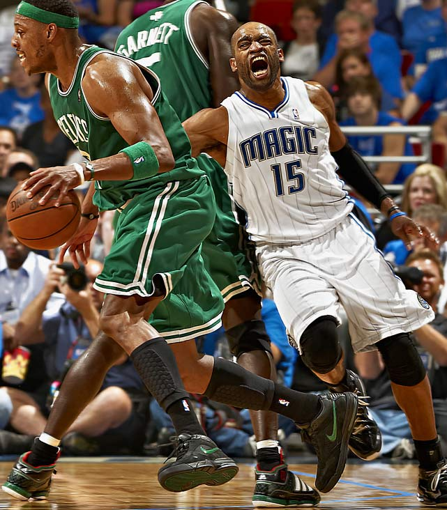 The knock on the explosive scorer and perennial All-Star has always been his teams' lack of playoff success. Carter had a chance to redefine his reputation with the Magic in the 2010 playoffs but struggled in a conference-finals loss to Boston. Orlando traded Carter to Phoenix early in the 2010-11 season, and he latched on with the Mavericks for 2012, only to fall in the first round.