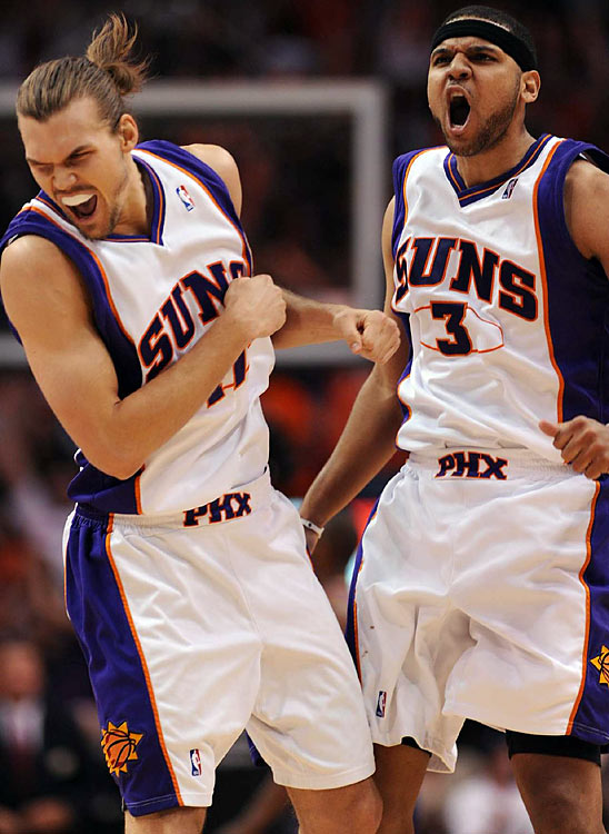 The Suns are 6-1 at home in the playoffs, but they'll be tested as they return to L.A. for Game 5 on Thursday.