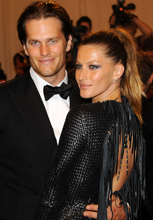 In between minicamps, OTAs and various team commitments, NFL players try to have some fun during their down time from the end of the season in January until training camp begins in July. Here's how some of the league's quarterbacks have spent their offseason.  Brady and his model wife, Gisele Bundchen, attended the Costume Institute Gala Benefit to celebrate the opening of the 'American Woman: Fashioning a National Identity' exhibition at The Metropolitan Museum of Art in New York City.