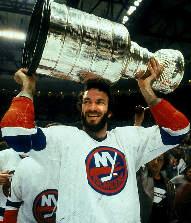 "The New York Islanders are credited with starting the playoff beard tradition while they were sprouting four successive Stanley Cups (1980-83). Grown for luck and solidarity -- no player shaves until his team is eliminated, although he may apply the razor if his luck has run sour -- the look was exemplified by defenseman Ken Morrow, who was aptly nicknamed ""Wolfman."""