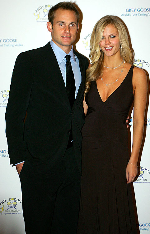 Tennis player Andy Roddick and SI swimsuit model Brooklyn Decker recently celebrated their one-year anniversary in Hawaii. The first year of marriage is traditionally celebrated by giving something made of paper.  We guess plane tickets fall into that category.